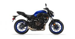 YAMAHA MT-07 ABS (modrá phantom)