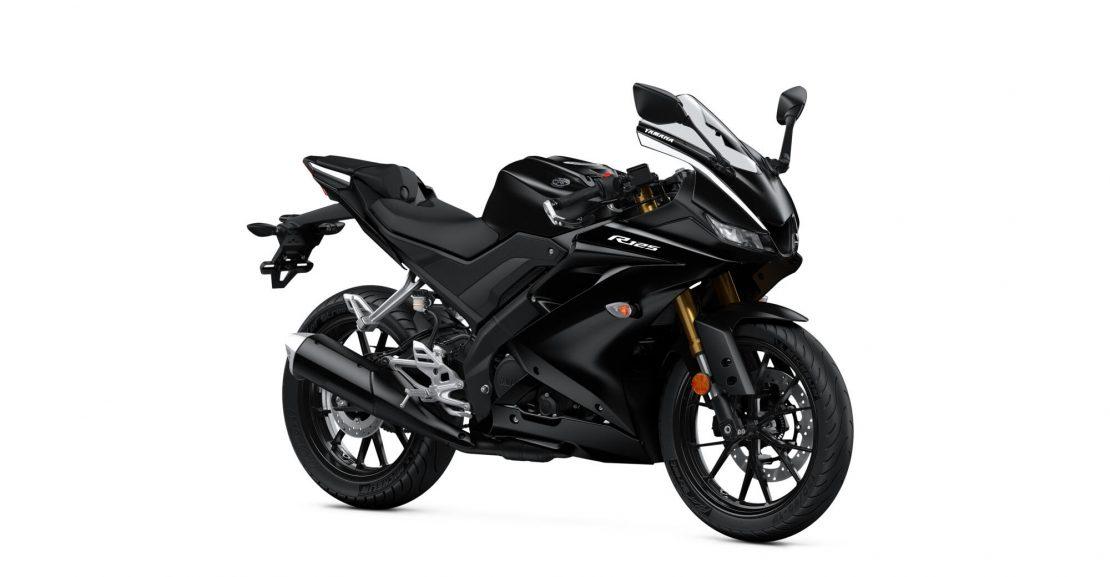Yamaha YZF-R125 black Motokomplex
