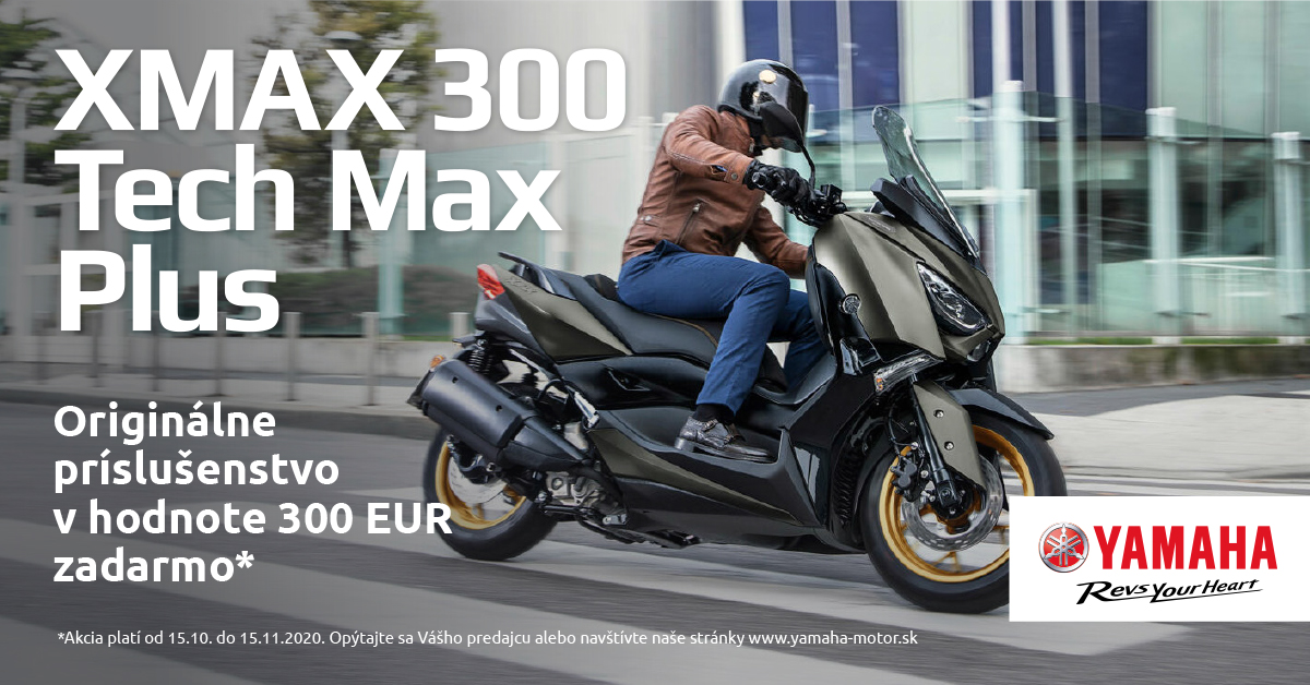 Akcia XMAX 300 motokomplex