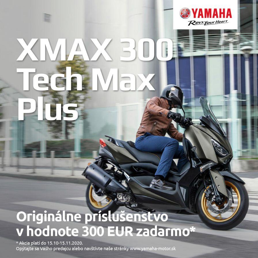 X-Max 300 a X-Max 300 Tech