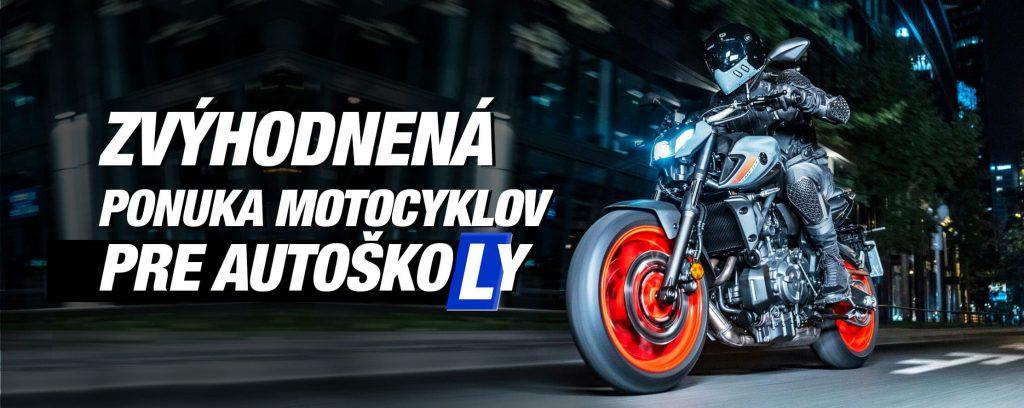 Motocykle pre Autoskoly od Motokomplex
